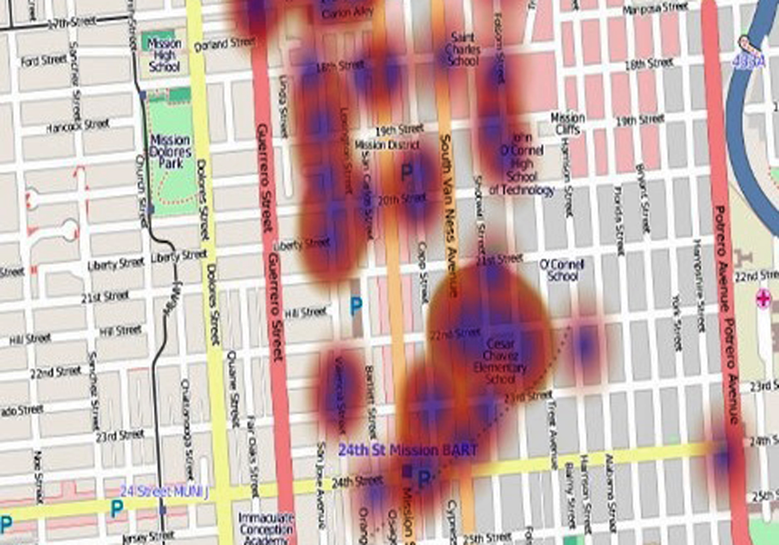 iPhone App Finds 311 Graffiti Gripes Fixed Slowly