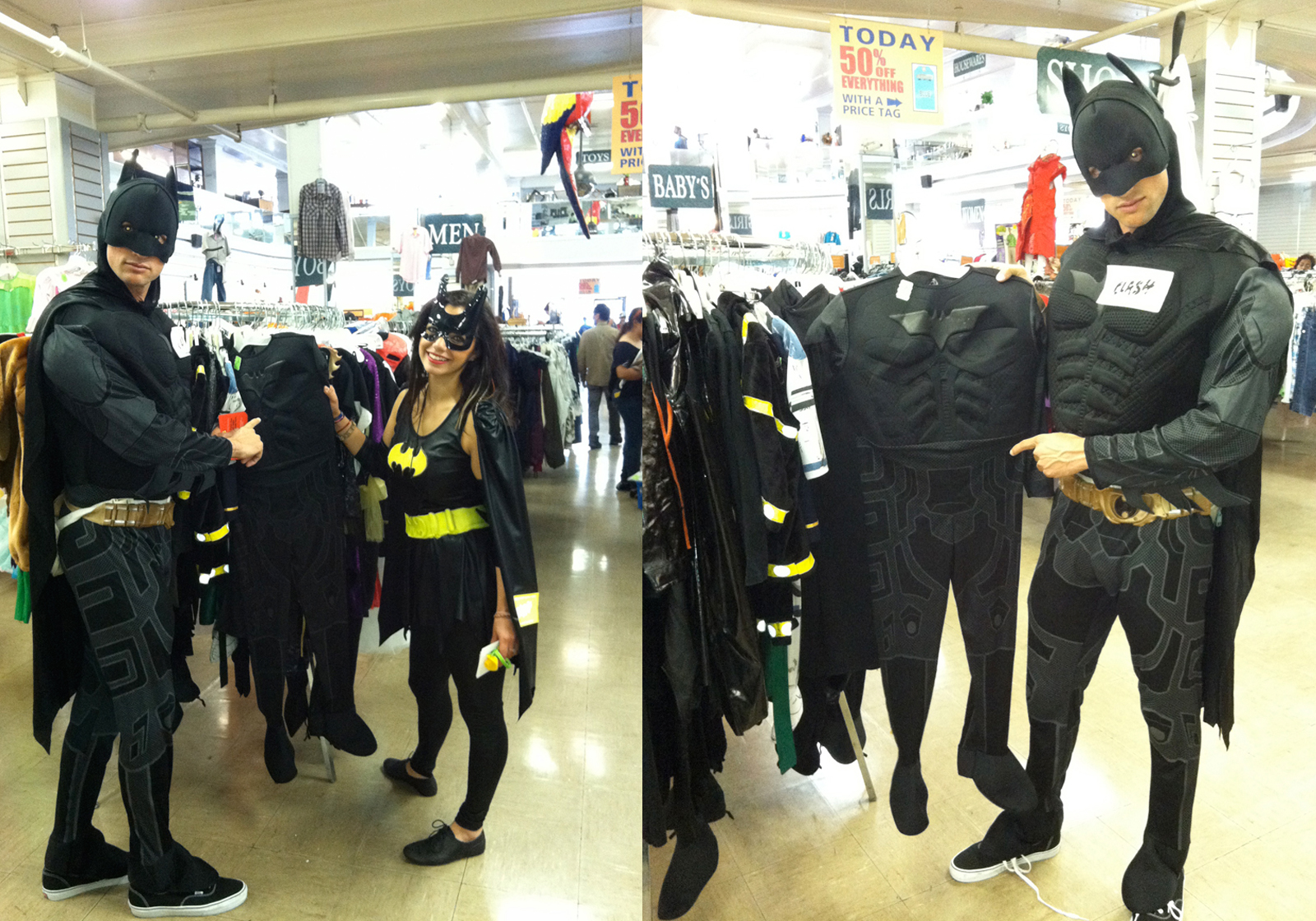 Batman Sighting @ Mission Thrift