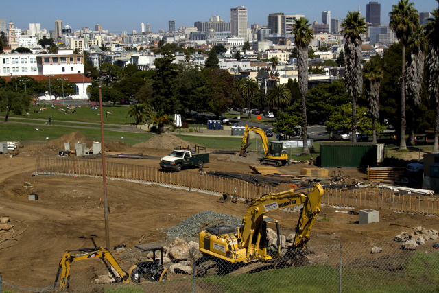 Construction Will Take Longer at Dolores Park