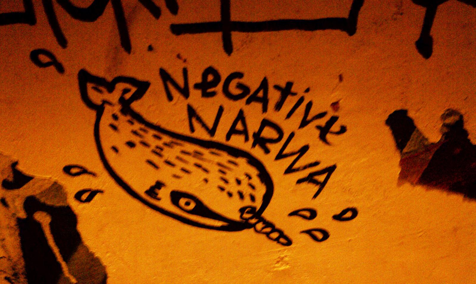 Someone Likes Graffiti. And Someone Likes Narwhals