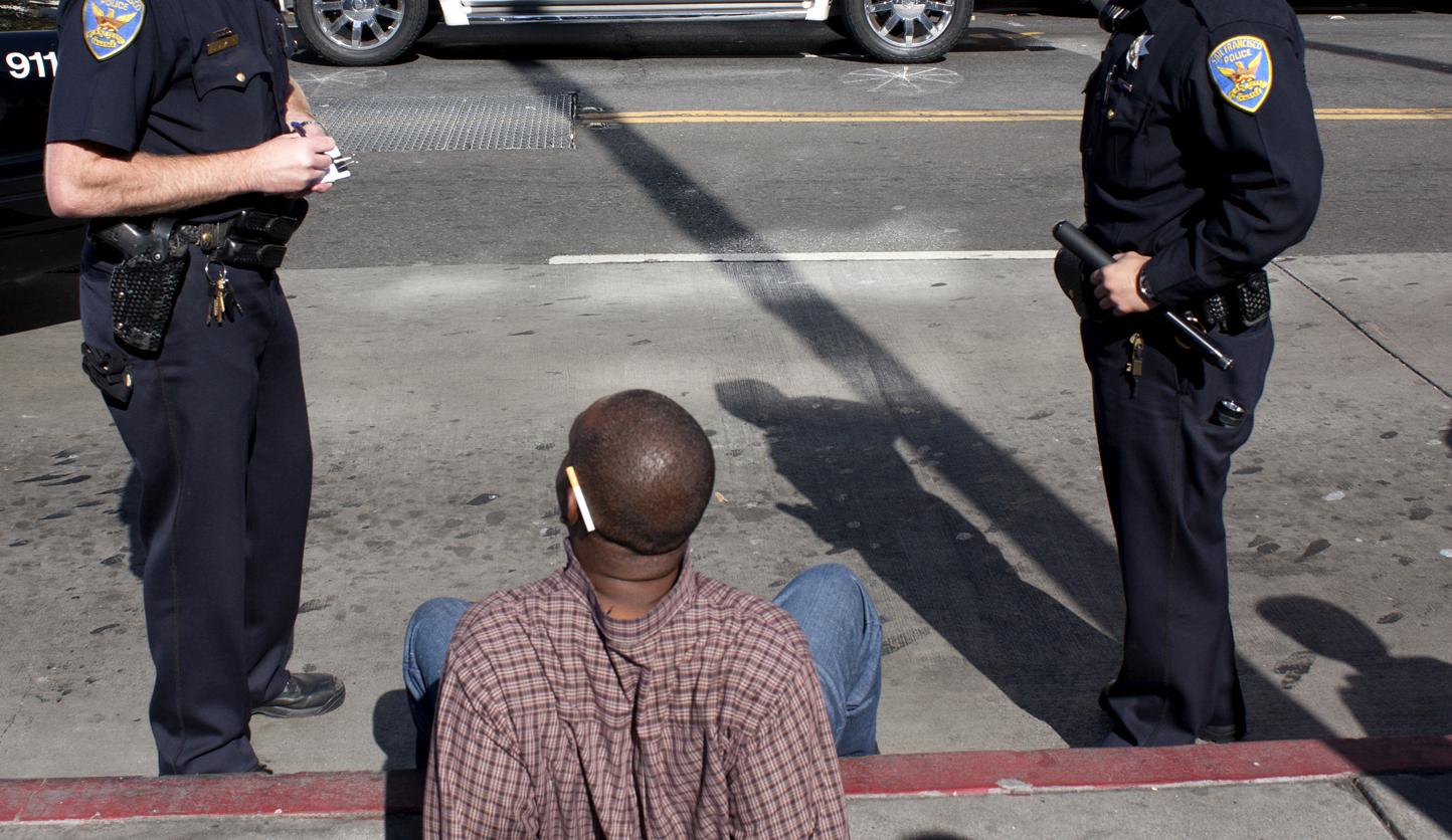 Cops Do Nab You for Jaywalking