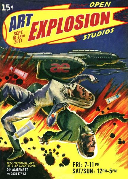 Art Explosion Fall Open Studios Opening Reception Tonight!