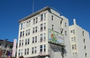 THe Royan Hotel on the corner of 15th and Valencia streets. Photos by John C. Osborn