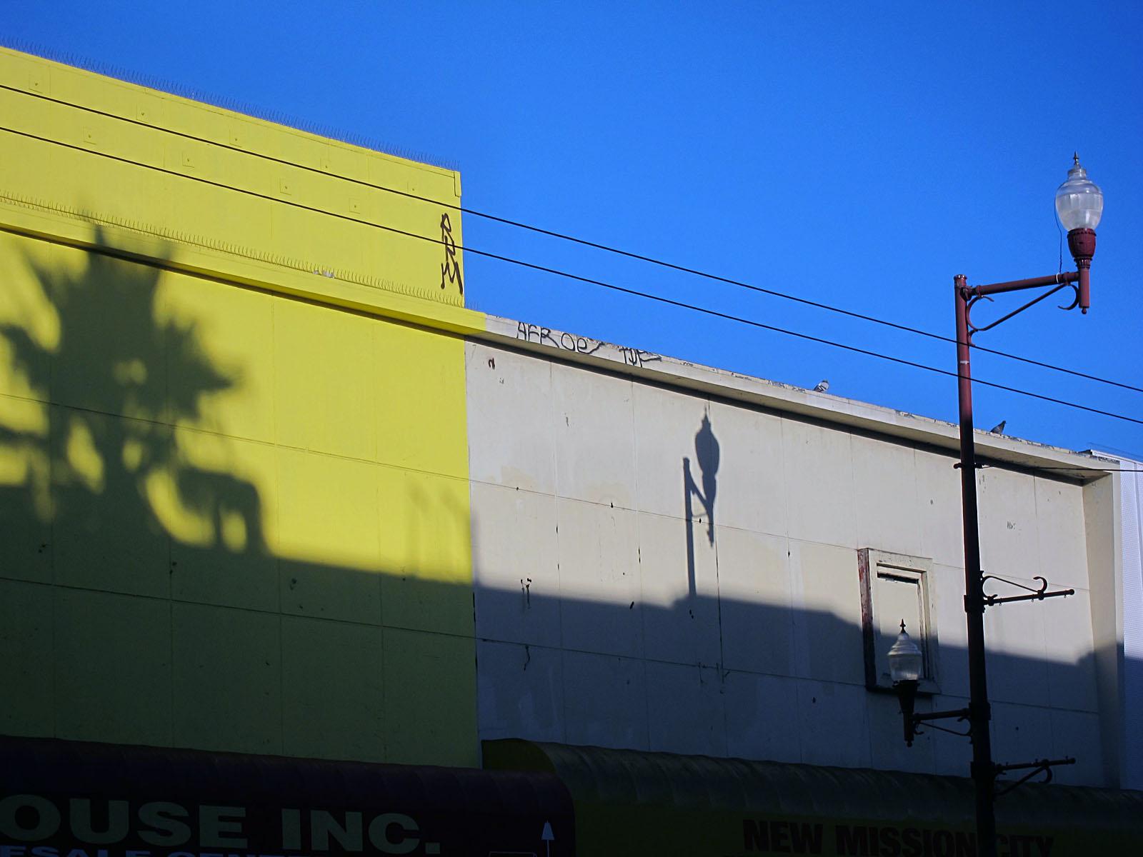Mission Street's Morning Shadows