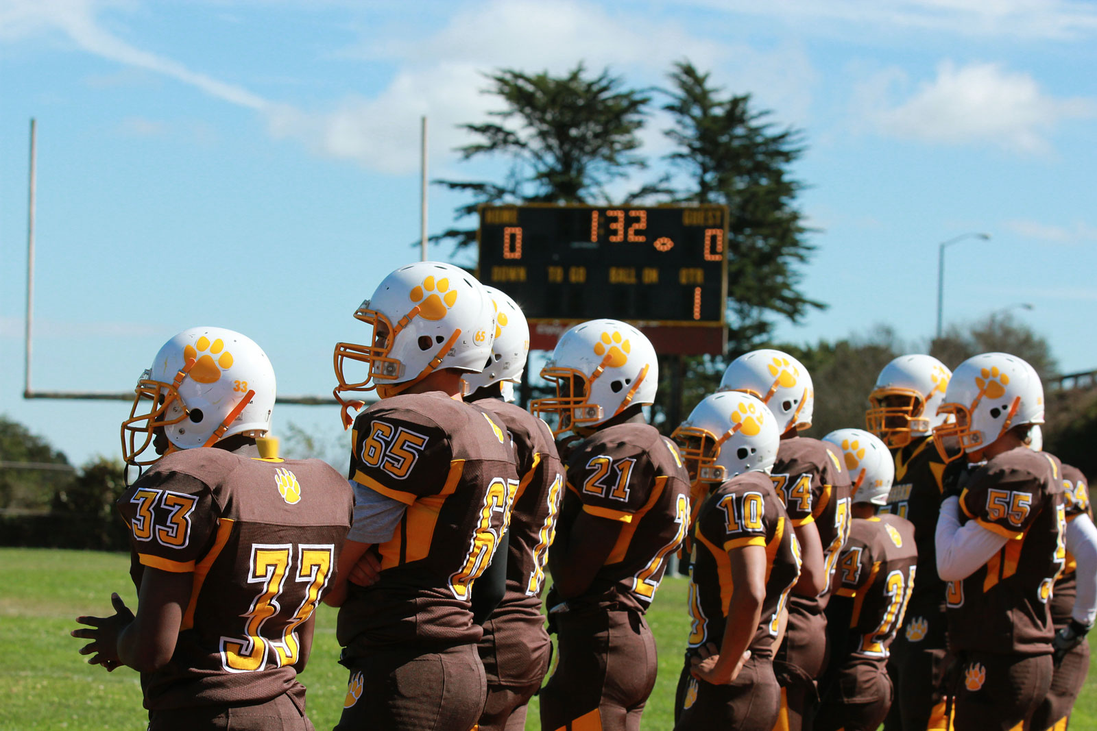 Mission High Bears Dominant in First League Game