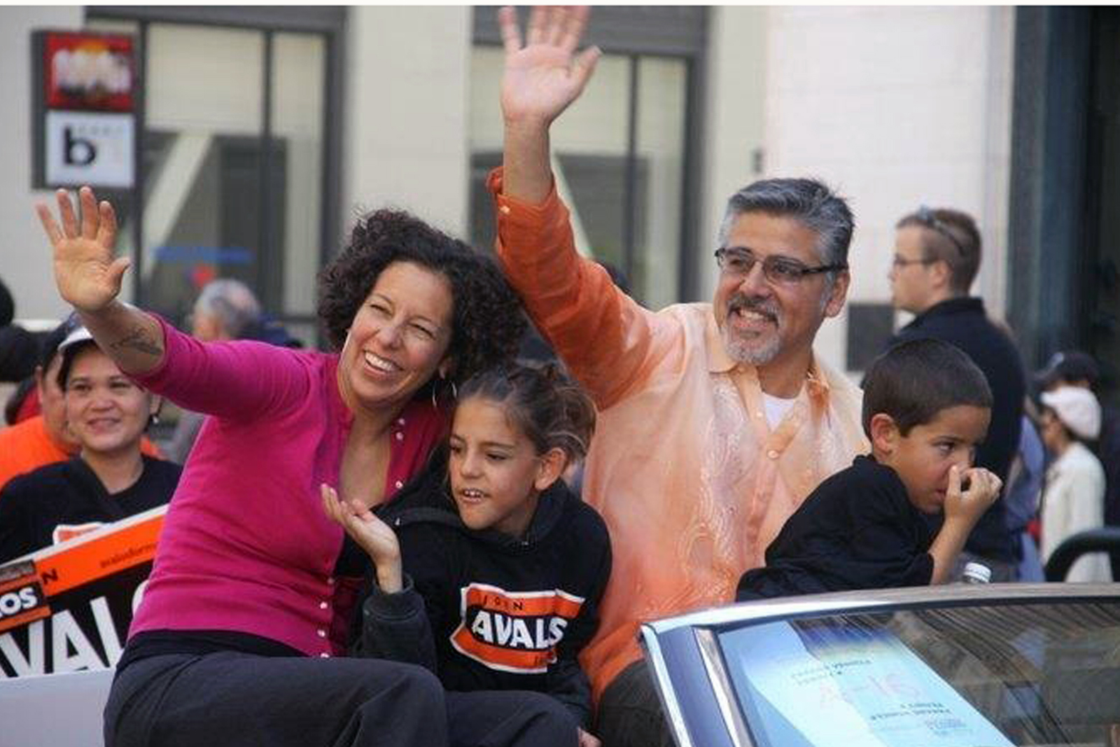 Avalos Stands with Protesters Occupying San Francisco