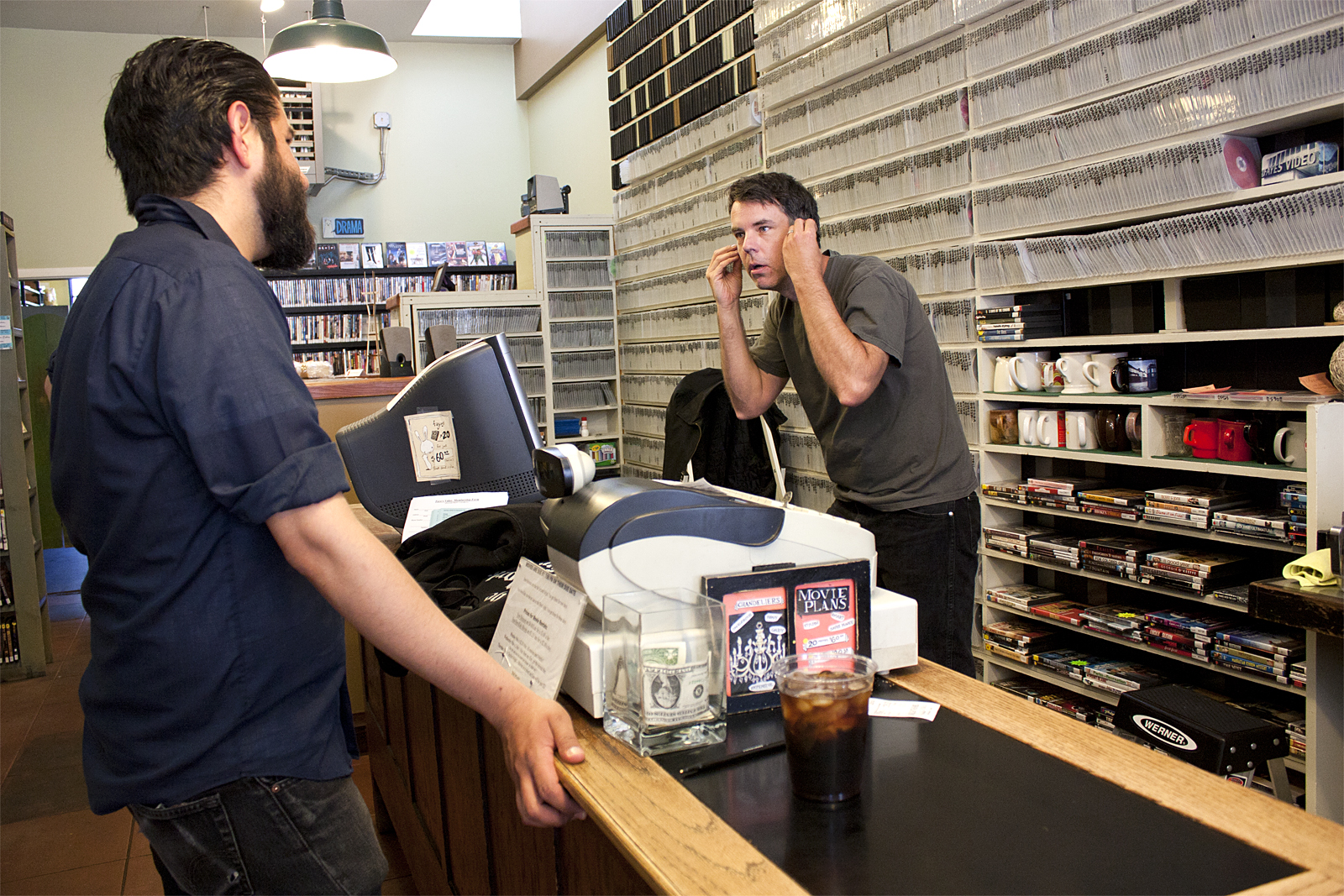 Video Stores Try to Beat the Odds