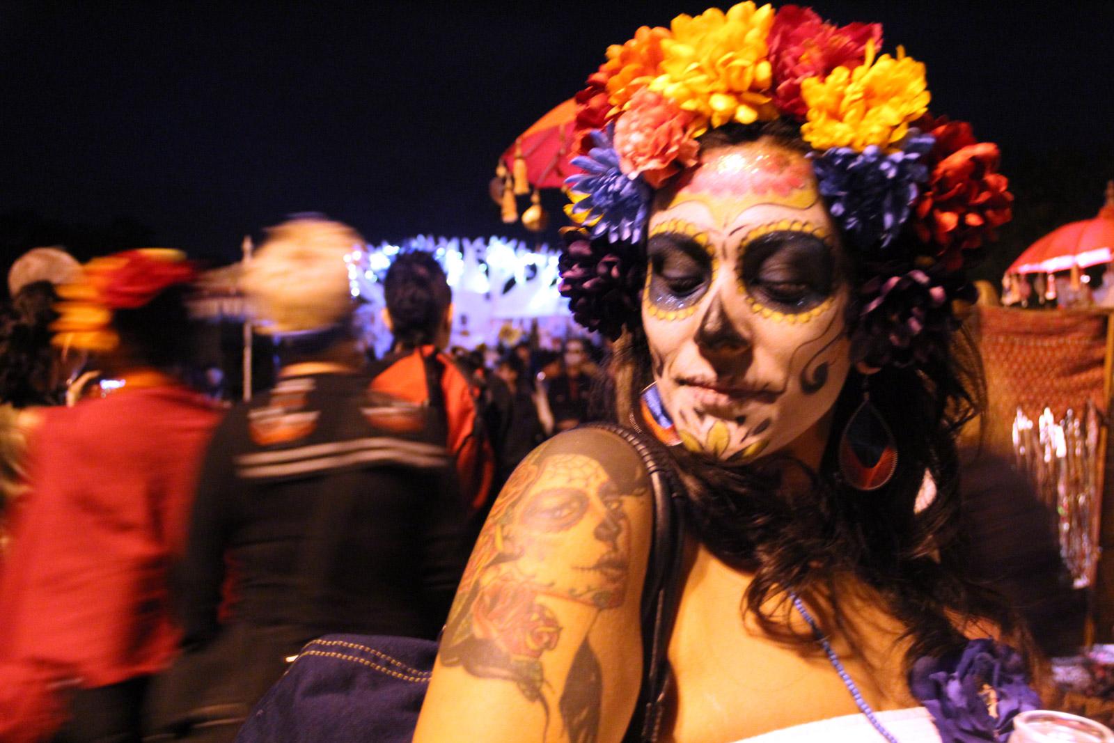 Dia de los Muertos Procession a Celebration of Life