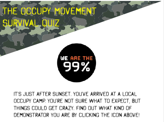 Game Time: The Occupy Movement Survival Quiz