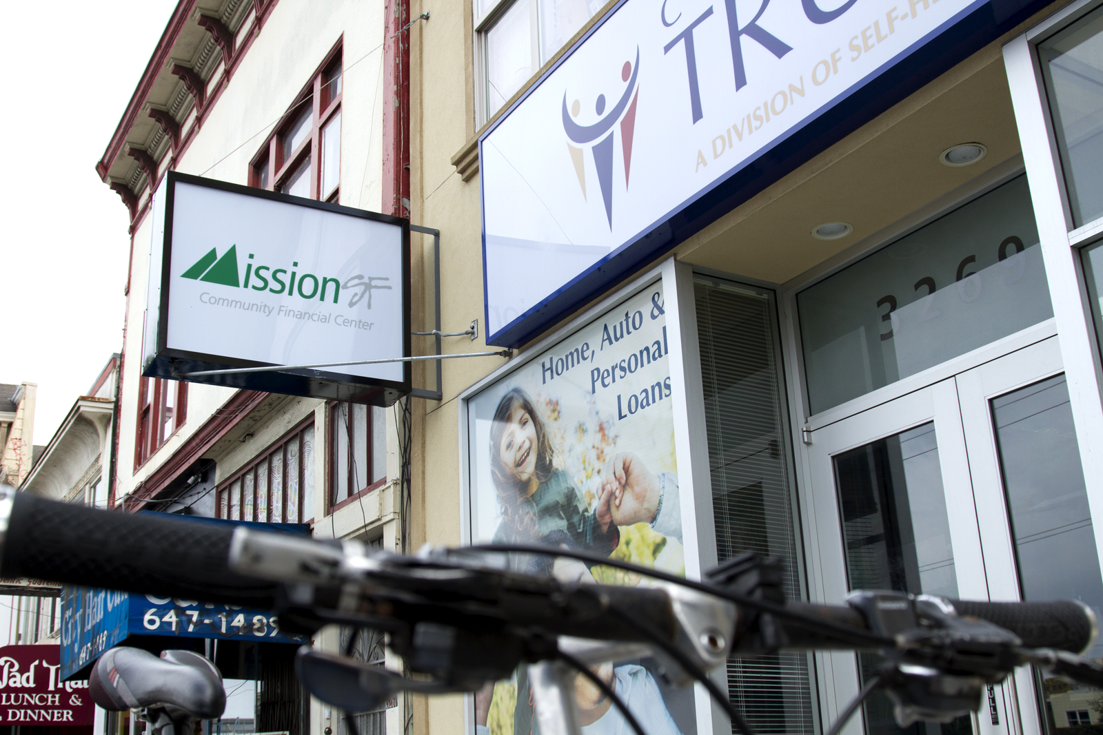 Mission Residents Mull Breaking with Banks