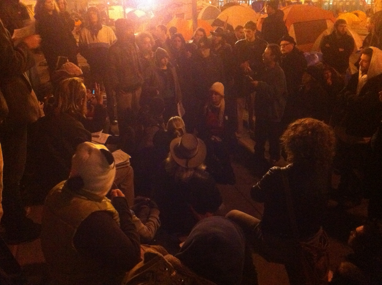 Occupy SF Declines Offer to Move to the Mission