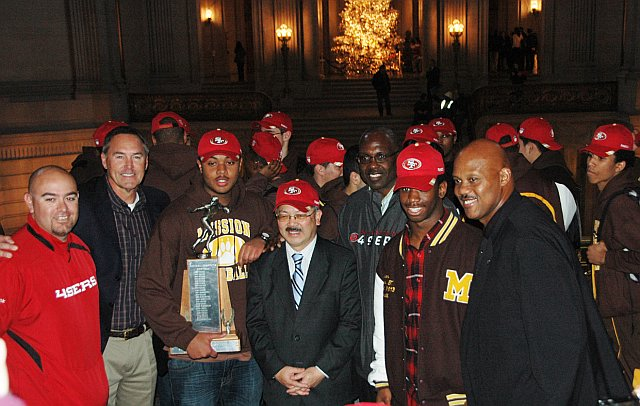 Mission Bears Honored by Mayor Ed Lee