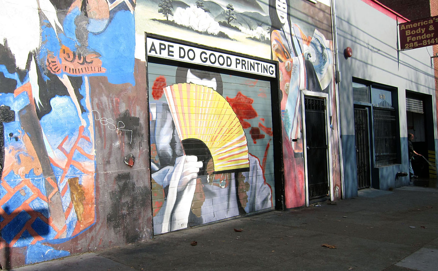 Ape Do Good Printing bids Mission adieu