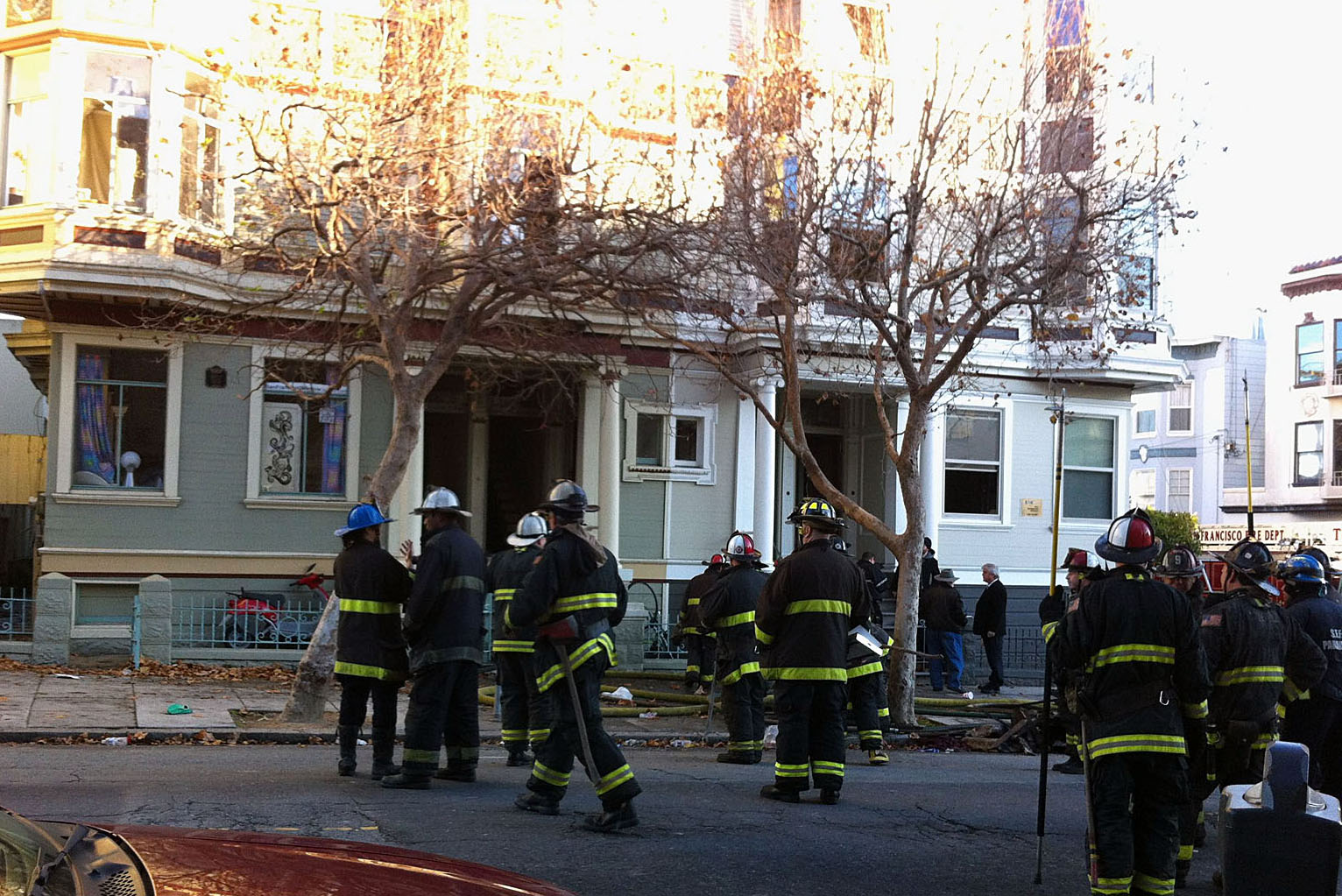 Two Critically Wounded in Two-Alarm Fire