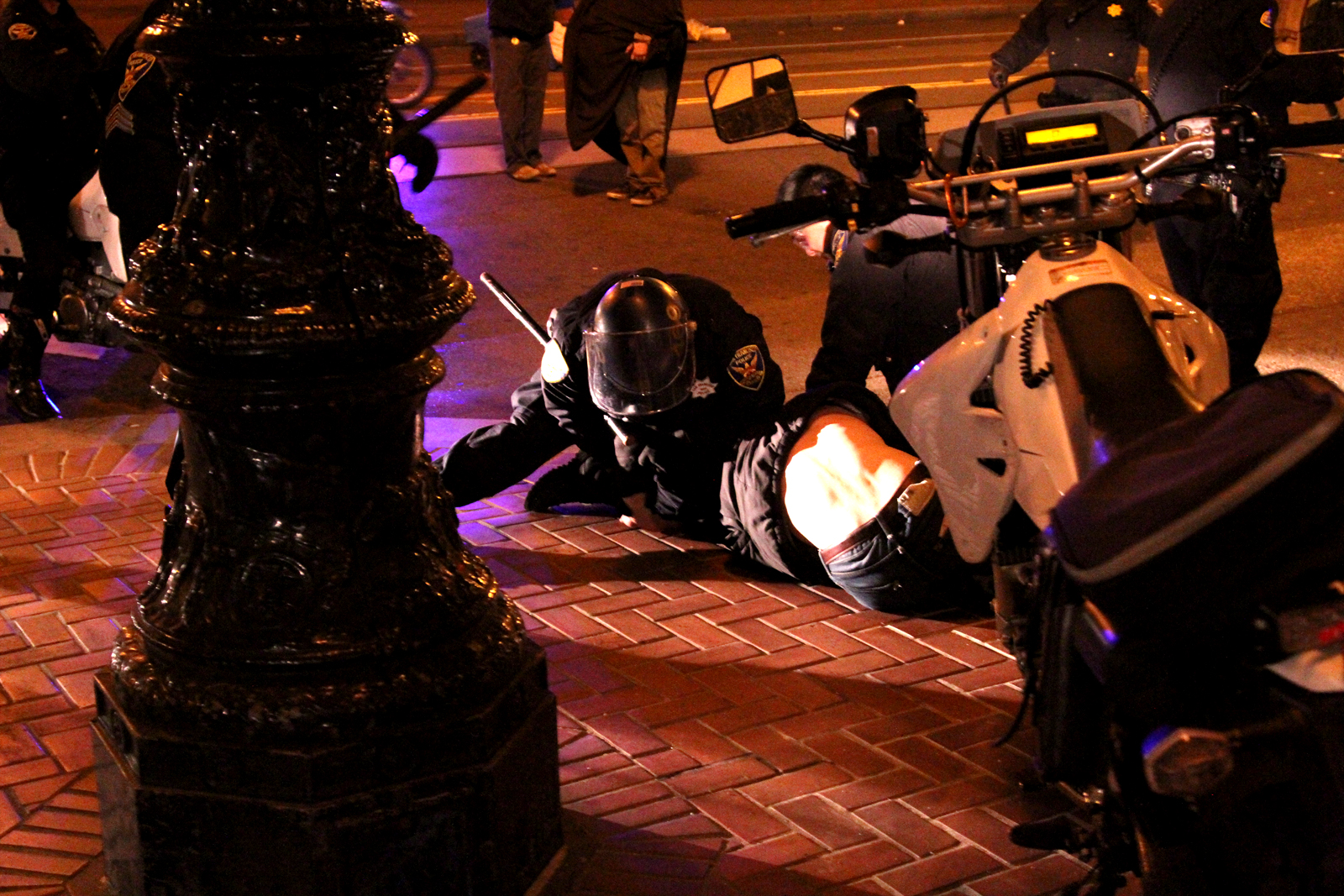 Occupy SF Dismantled by Police Overnight
