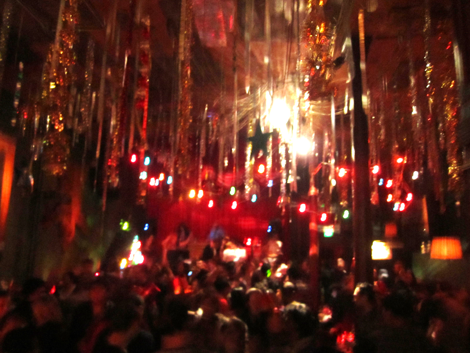 The Make Out Room last year on New Year's Eve.