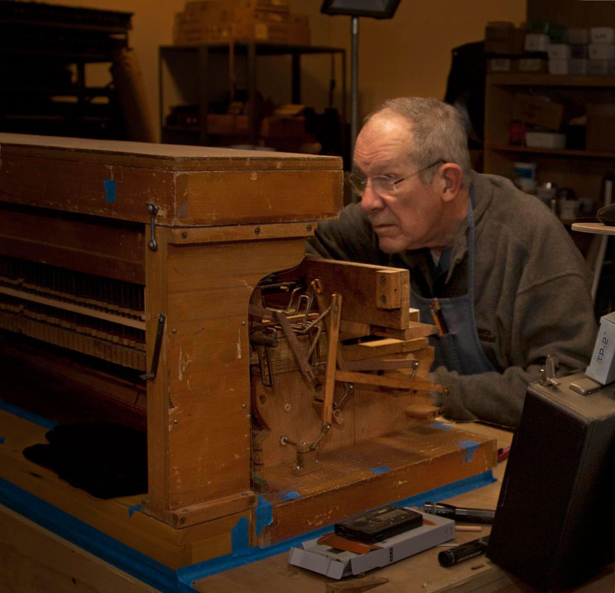Jim Tyler Rescues Reed Organs