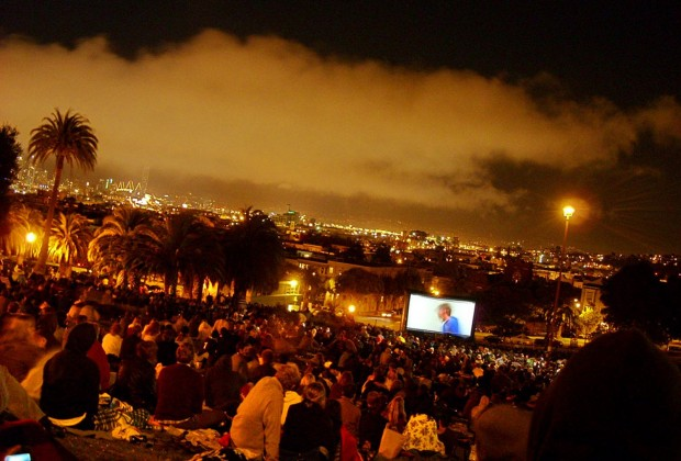 Movie Night at Dolores Park. Photo by Michael Patrick.