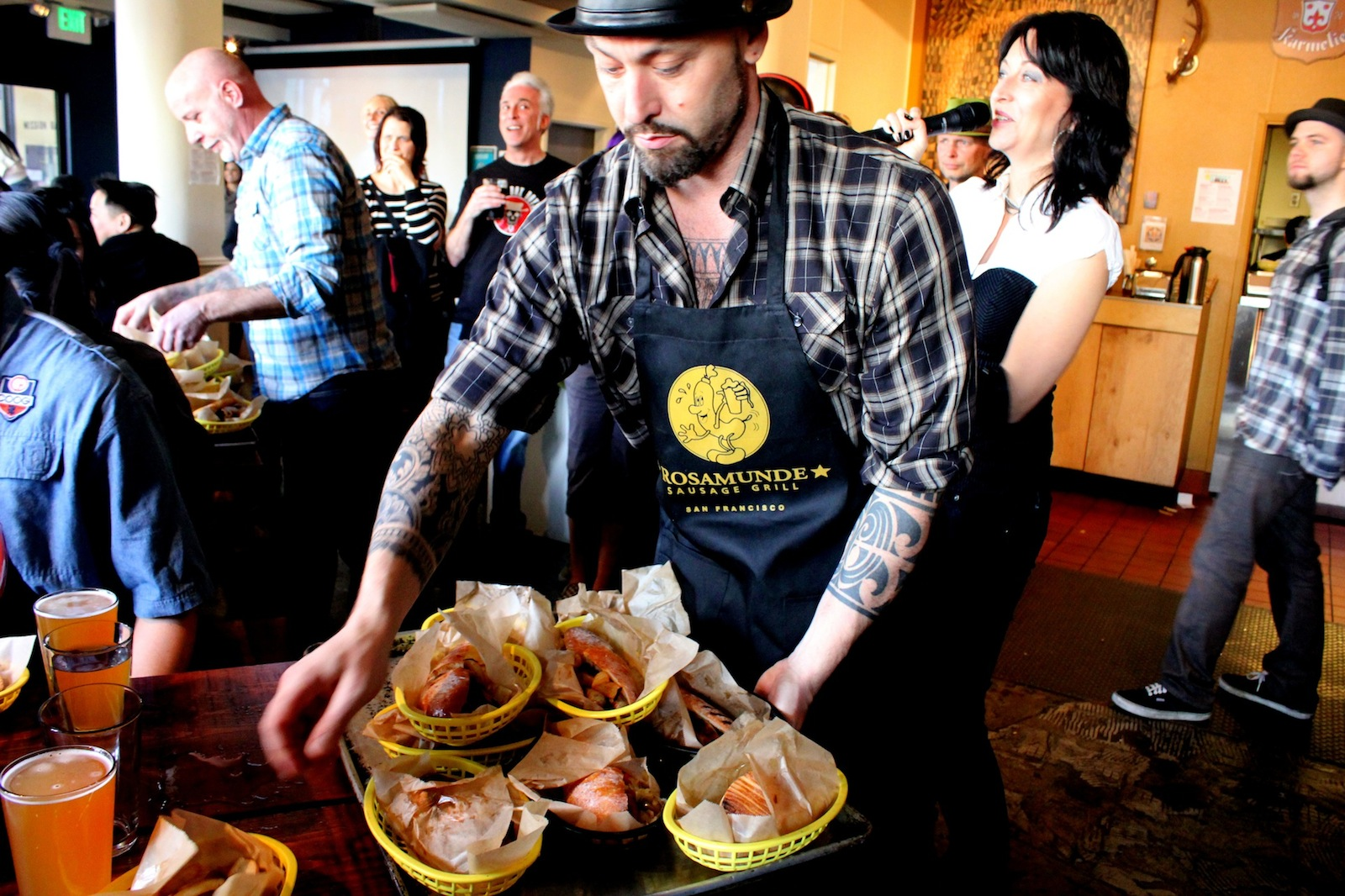VIDEO: Ready, Set, Eat! Sausage-Eating Contest