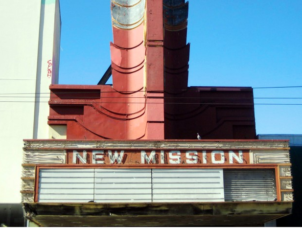 New Mission Theater Plan: 5 Screens, 900 Seats