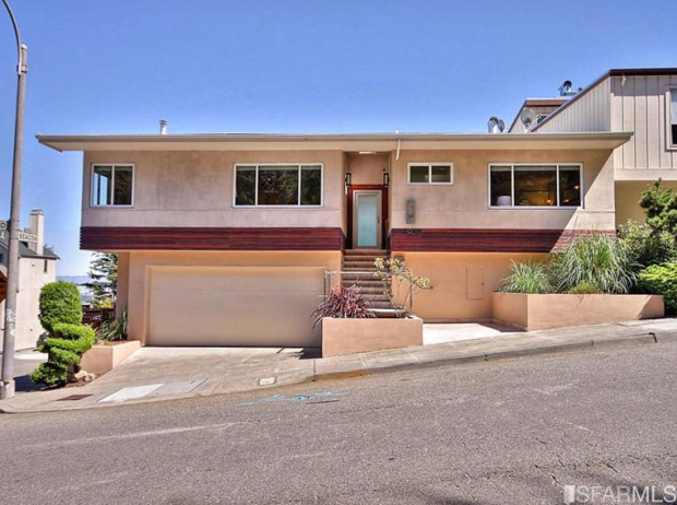 Giants Pitcher Matt Cain is selling his home at 1901 Diamond Street.