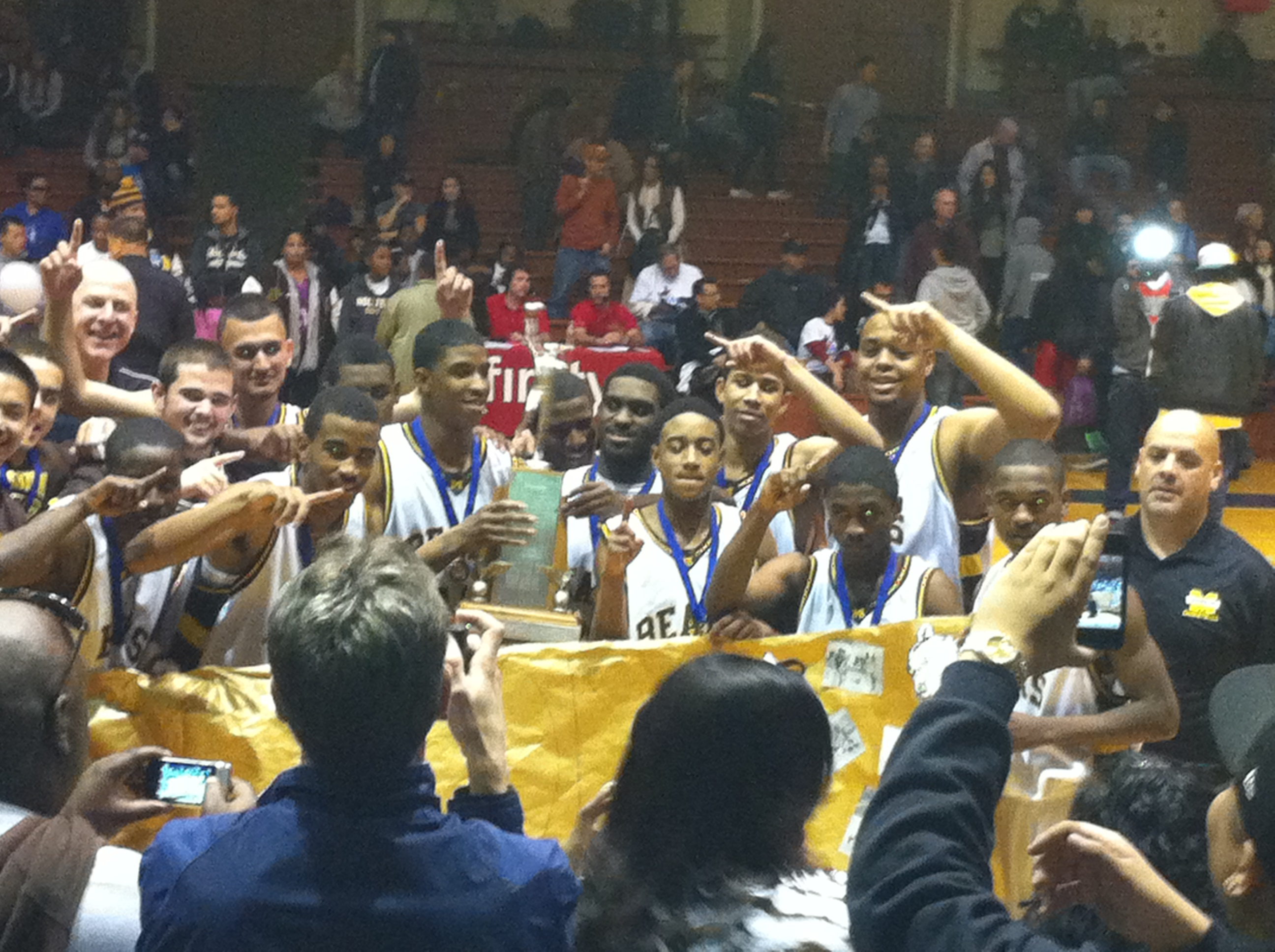 Mission Bears Win the AAA Basketball Championship