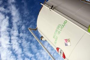 Dogpatch Biofuels fuel storage tank