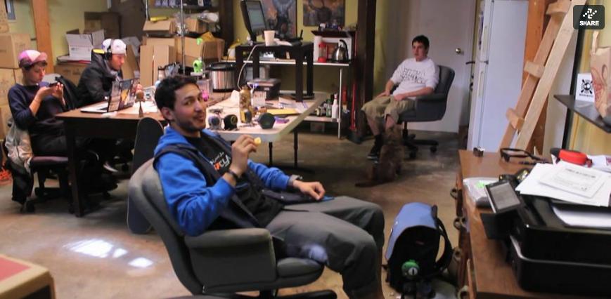 Cómo Se Vive y Trabaja en un Espacio de 1,250 Pies Cuadrados