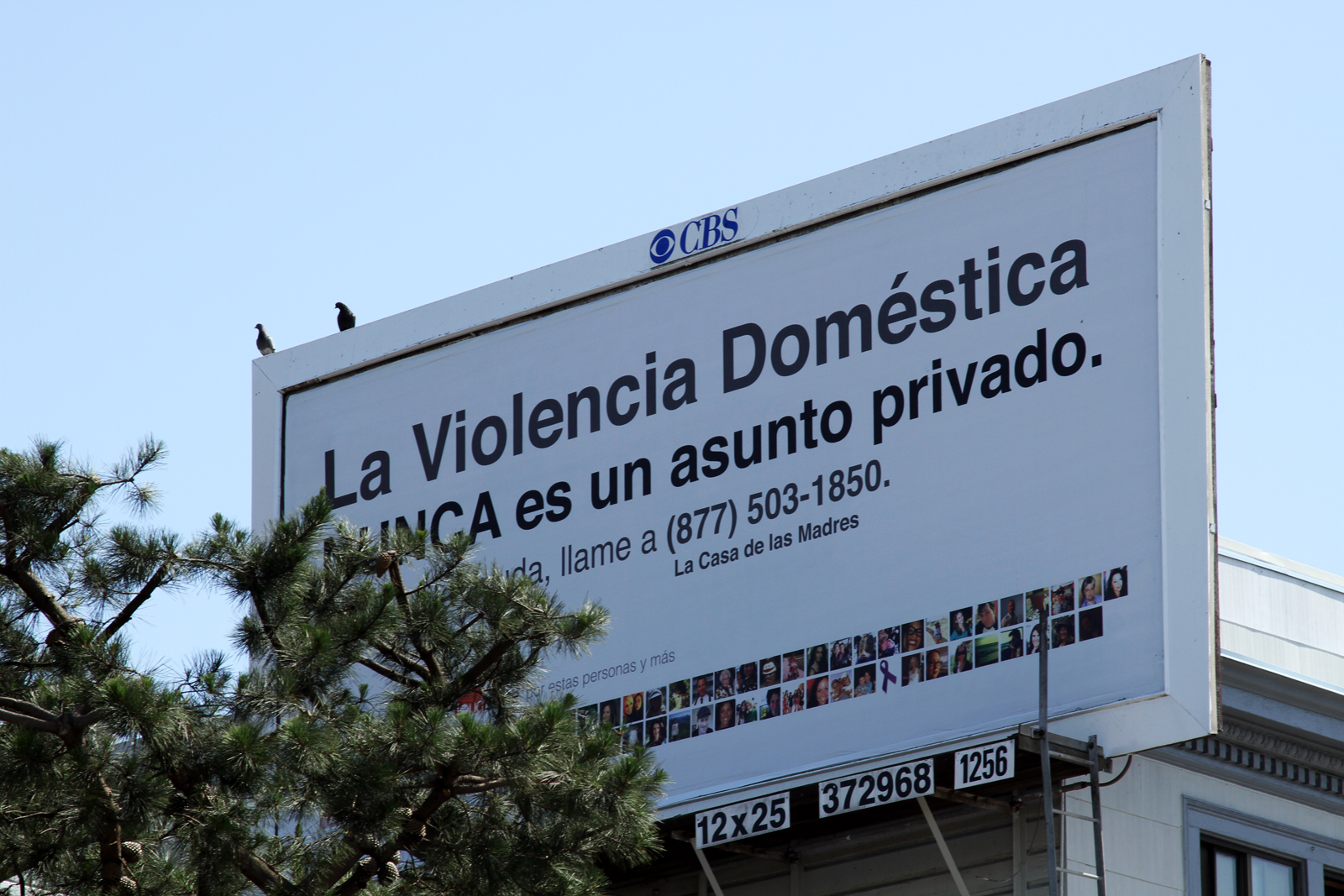 Anti-Domestic Violence Billboard Spurs New Calls