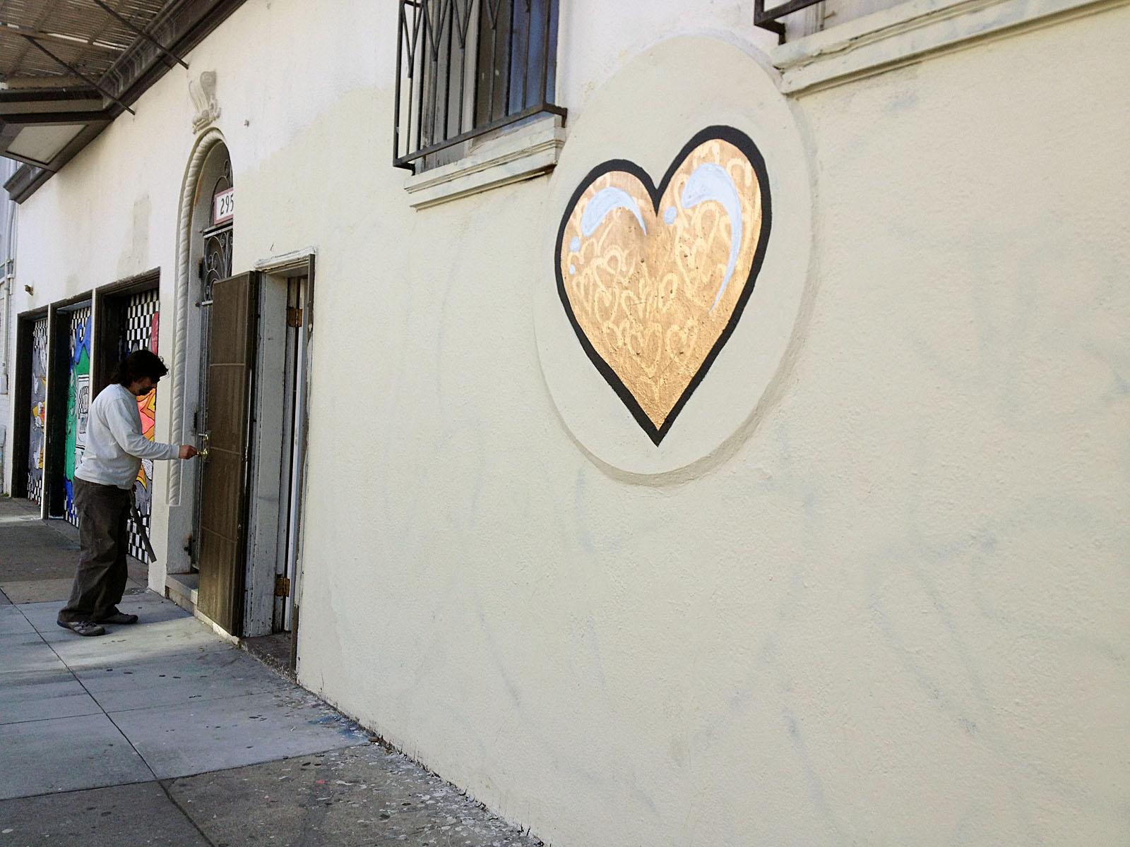 Can Love Conquer Graffiti, or Is Love Graffiti?