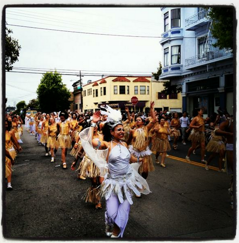 Scenes From the Carnaval Parade