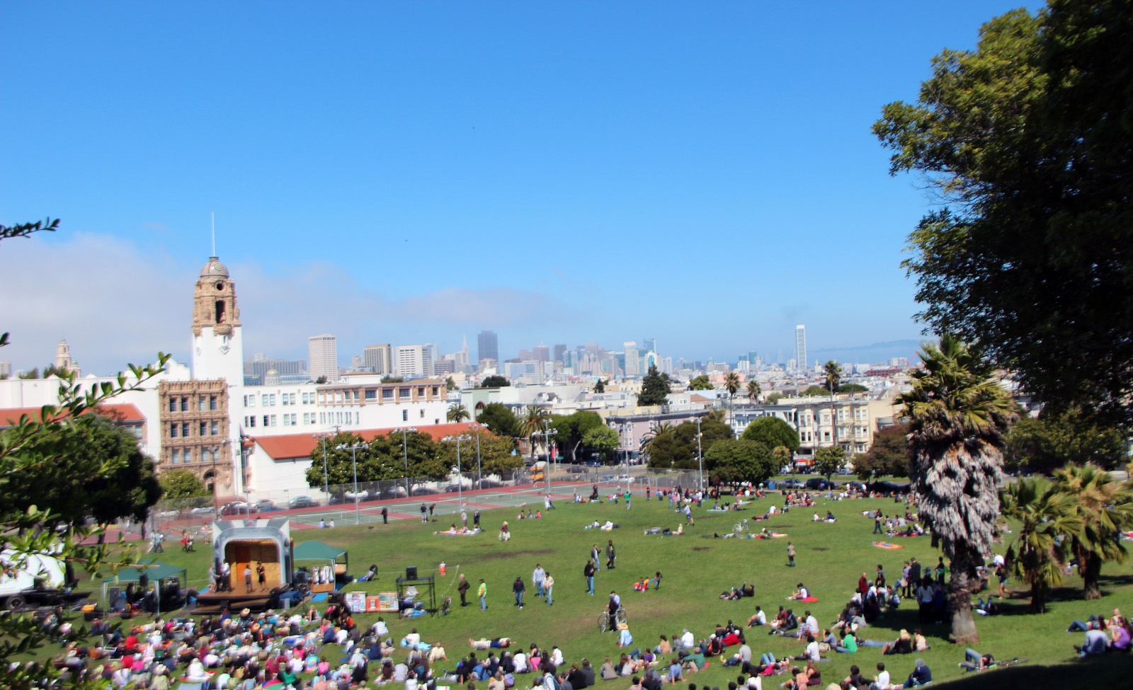 Open House for Dolores Park Project Canceled