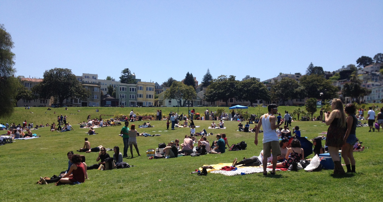 Dolores Park Video Taker Considers a Park Clean Up