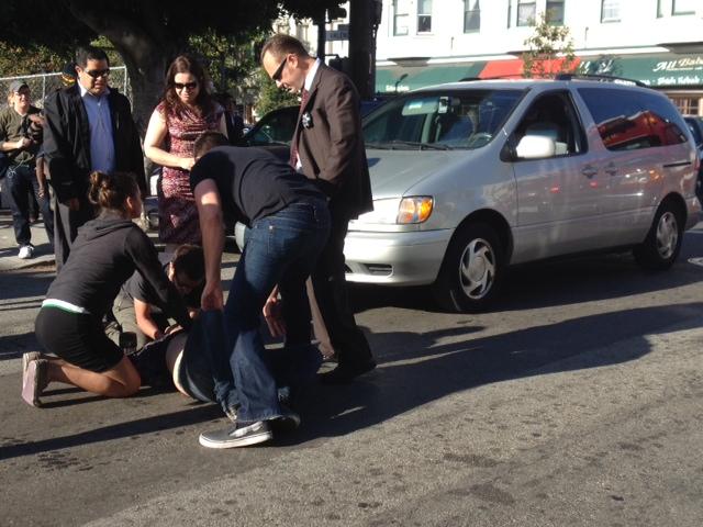 Pedestrian Struck by Car on 19th St.