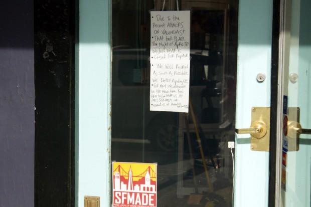 Negocios Se Solidarizan Después de Daños por Vandalismo
