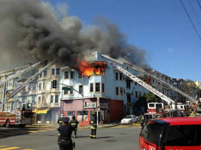 Fire Victims Seek Housing, Donations