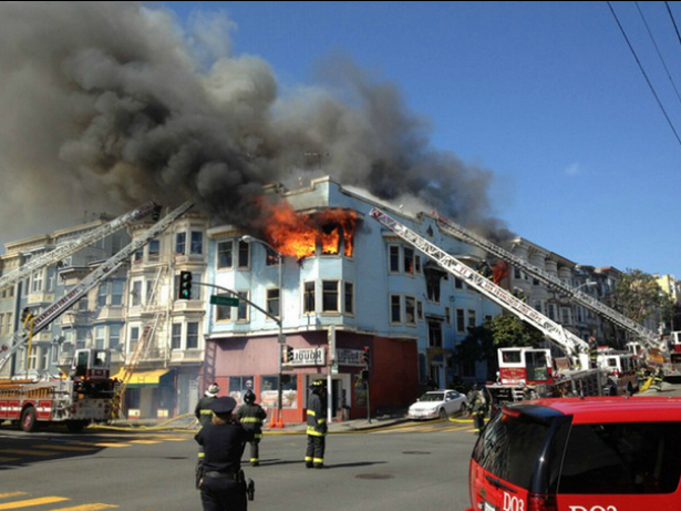 Duboce/Valencia Fire Relief Fundraiser This Sunday