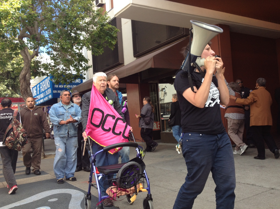 Occupy Bernal Holds Protest in the Mission