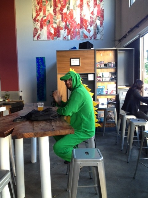 SNAPS: It Ain't Easy Being Green
