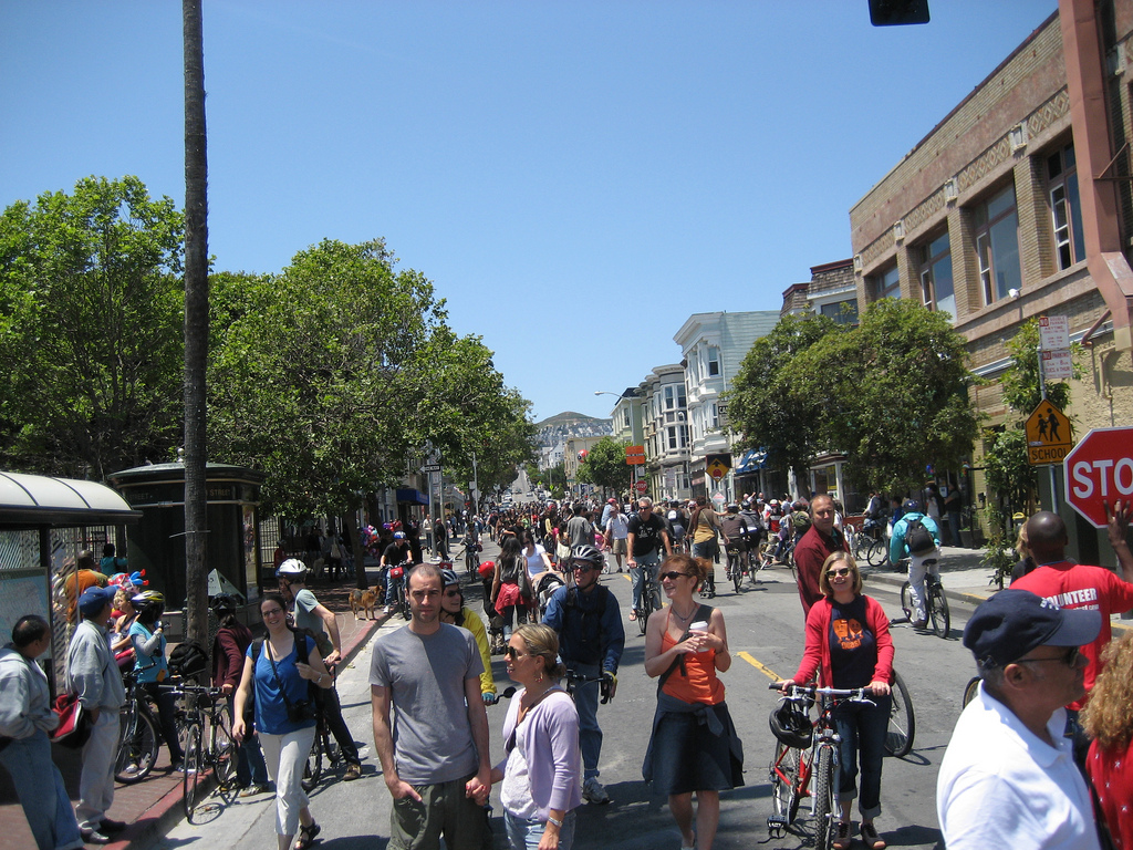 Everything But Cars in the Streets This Sunday