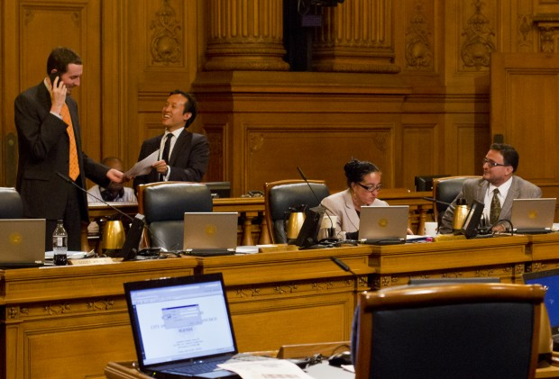 Even Supervisor Campos (right), the most outspoken critic of the Housing Trust Fund, gave the measure his approval.