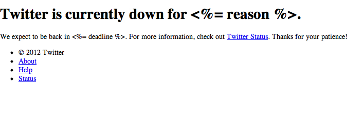 Yep, Twitter Is Down