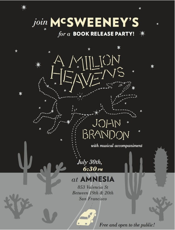 McSweeney's Book Release Party Tonight