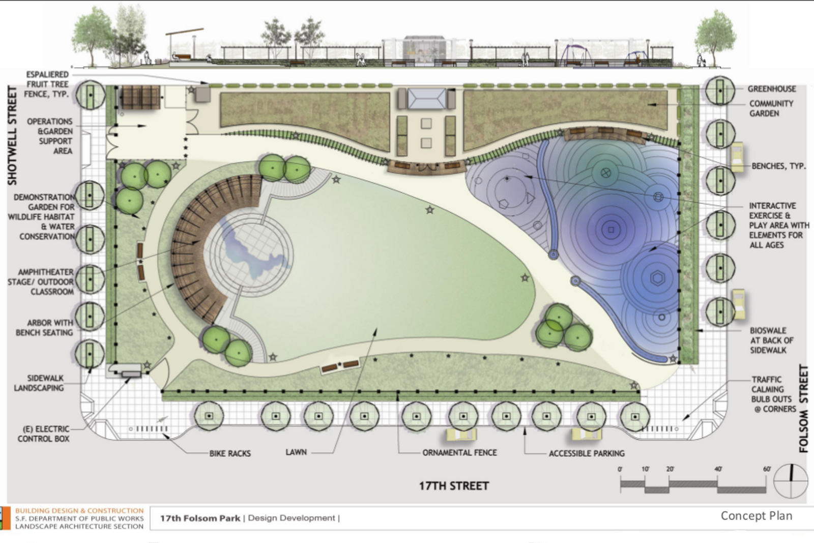 17th and Folsom Park to Get Shared Garden Space
