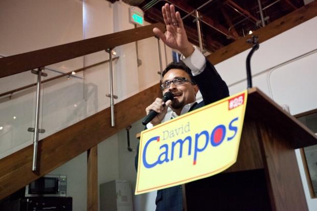 Campos Comienza su Campaña de Reelección