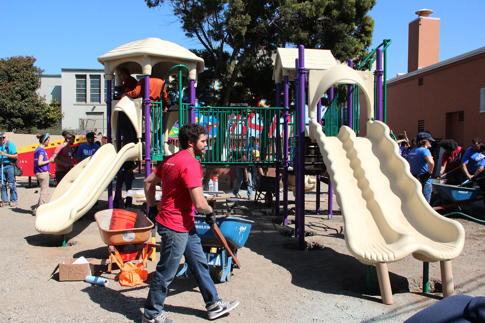 Zynga, KaBOOM!, Children Help Design YMCA's New Playground
