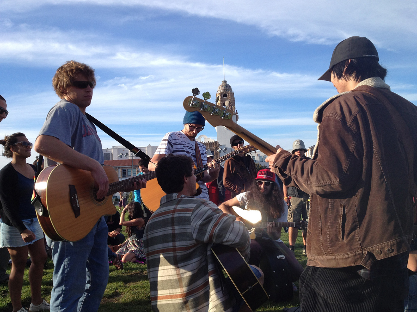 SNAP: Impromptu Jam Session in Dolores Park