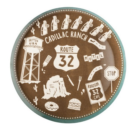 One of the Curiosity Shoppe's plates for sale at Target. Photo: Target.com