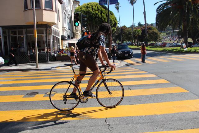 Avalos Brings Bike Yield Proposal to Board