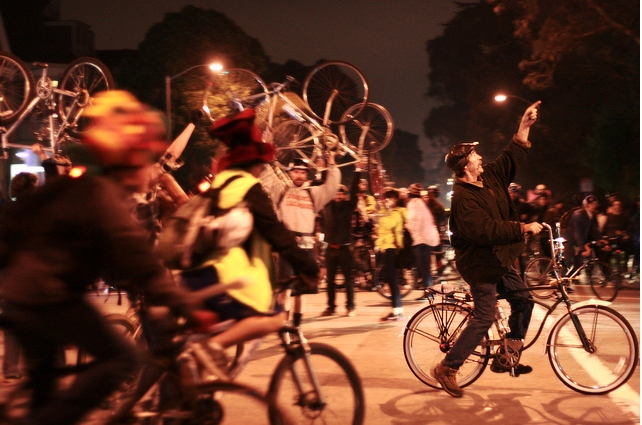Critical Mass Celebrates 20 Years of Cycling for Change
